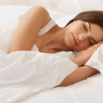 woman sleeping soundly