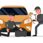 car thieves ruin christmas preparations